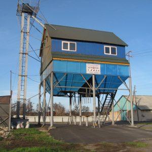 Строительство ЗАВ-50, Воронежская область